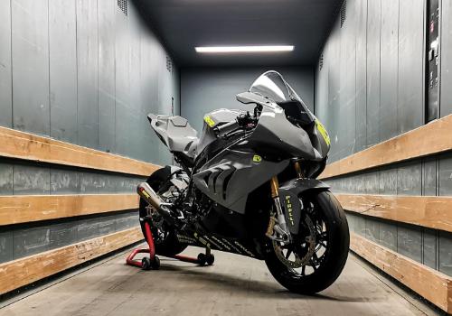 Folierung Beschriftung Motorrad